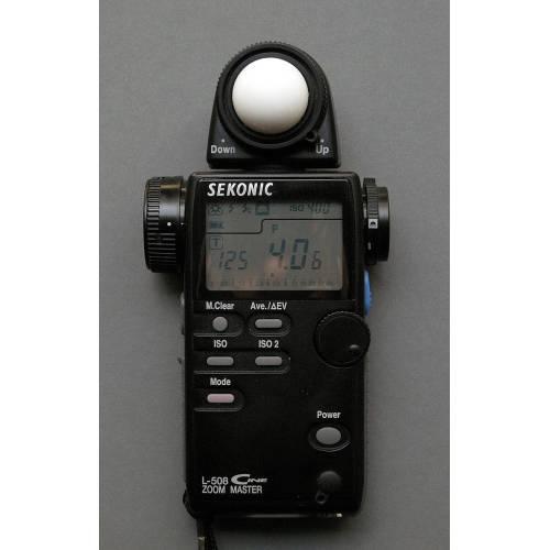 Medium Crop Of Sekonic Light Meter