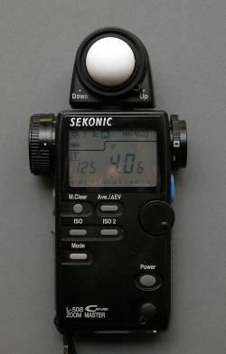 Small Of Sekonic Light Meter