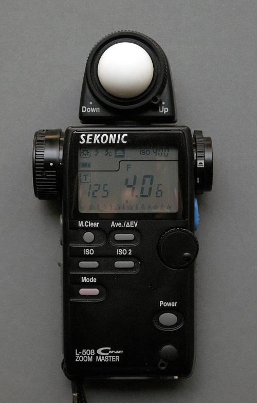 Medium Of Sekonic Light Meter