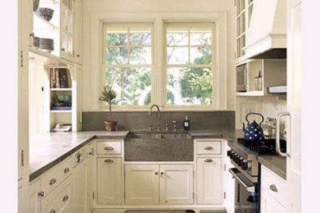 rustic galley kitchen design images