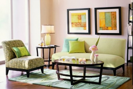 living room wall painting designs
