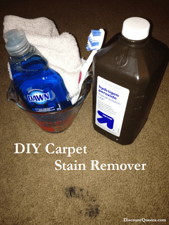 diy stain remover2 DIY Carpet Stain Remover