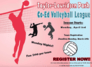 Co-Ed Volleyball League Signups Open At Taylor-Lauridsen Park