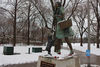 Oz Park's 'Toto' Sculpture Model Has Died, And Fans Are Leaving Flowers