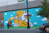 JC Rivera's Bear Mural Completed At NewCity