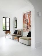 sitting area with E15 Shiraz short monochrome sofas