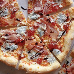 Cute Pizza Prosciutto Figs Recipe Worlds Largest Pizza Franchise Worlds Biggest Pizza Slice