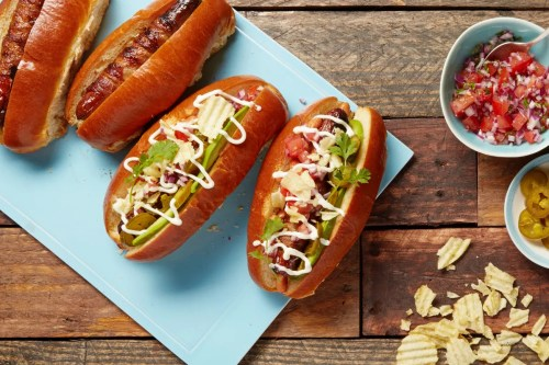 Medium Of Avocado And Dogs