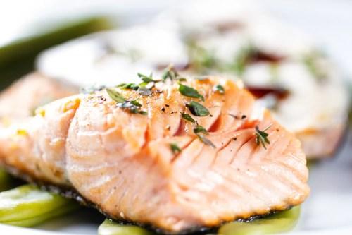 Scenic Salmon Salmon Thyme Recipe What Goes Good Salmon Burgers What Goes Good Asparagus Lemon