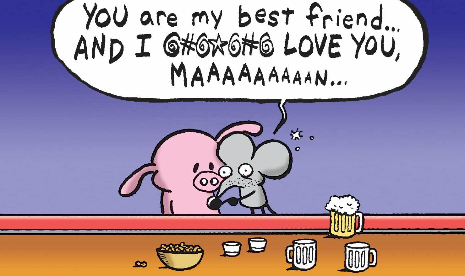 Smashing Quotes Friend S Cartoon Blog Image 3992 6779 Friends Day Comics 201705261633 Friend S photos Best Friend Pictures