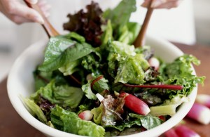 Mixed Greens with Apple Vinaigrette