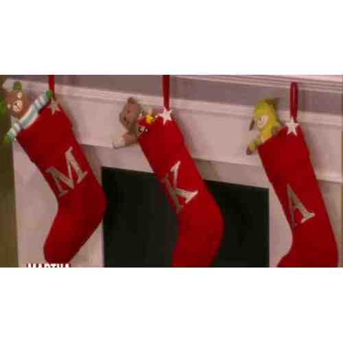 Medium Crop Of Monogrammed Christmas Stockings