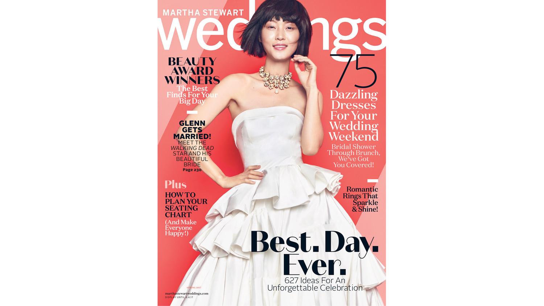 spring issue wedding magazines