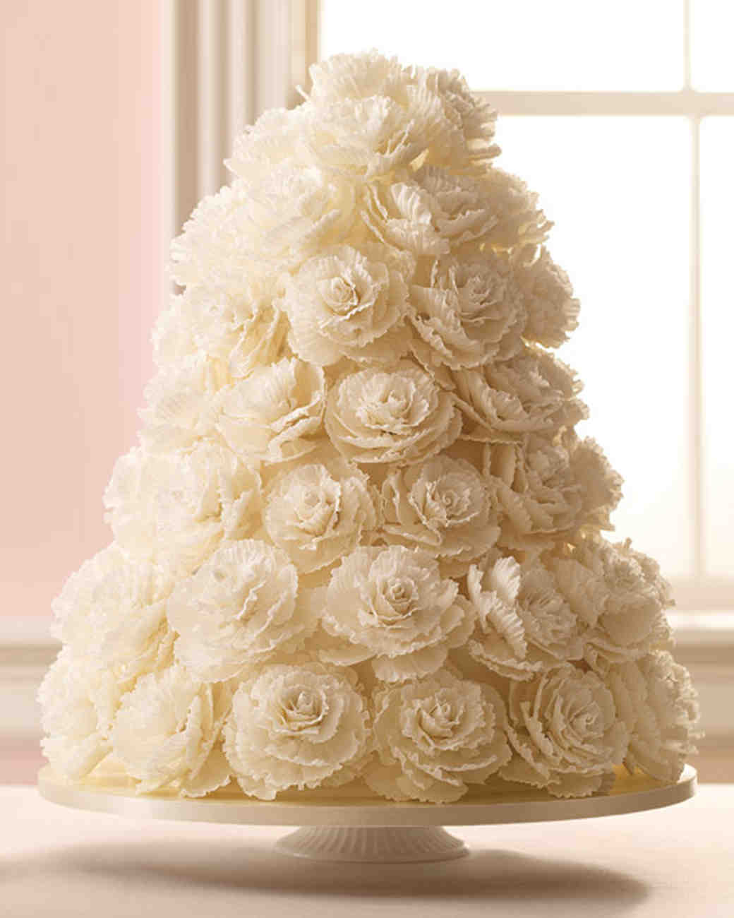 50 great wedding cakes wedding cakes pictures White Rose Wedding Cake