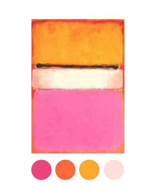 Medium Of Gold Color Palette