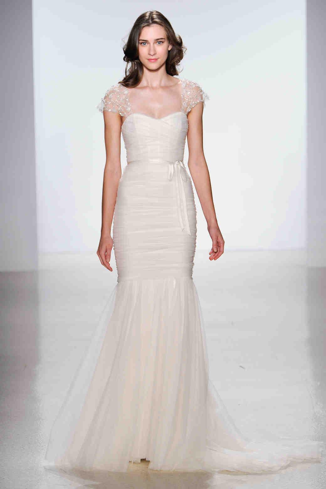 cap sleeve wedding dresses spring wedding dress cap sleeves Charming Caps