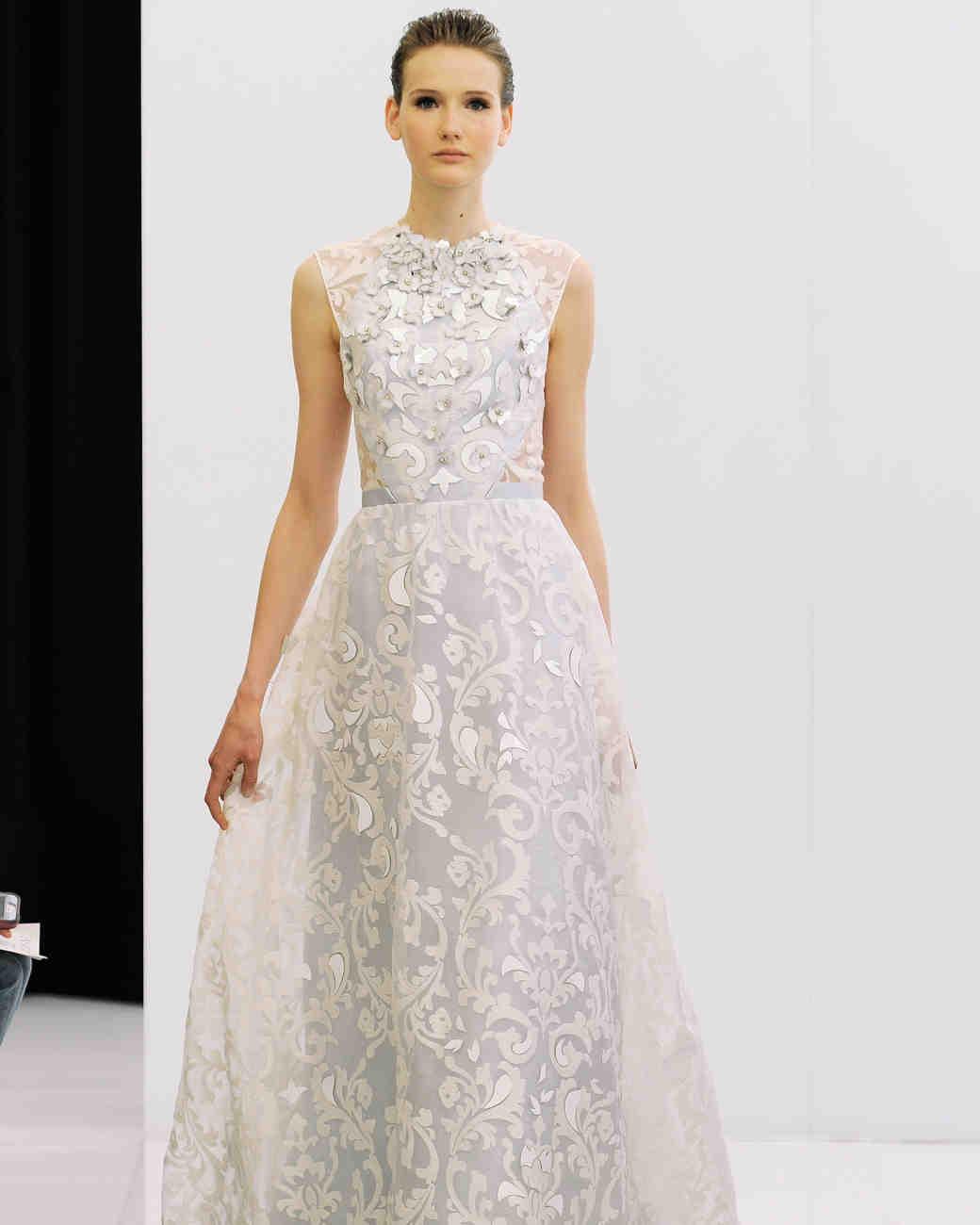 spring wedding dress trends trending wedding dresses 3 D Embellishments