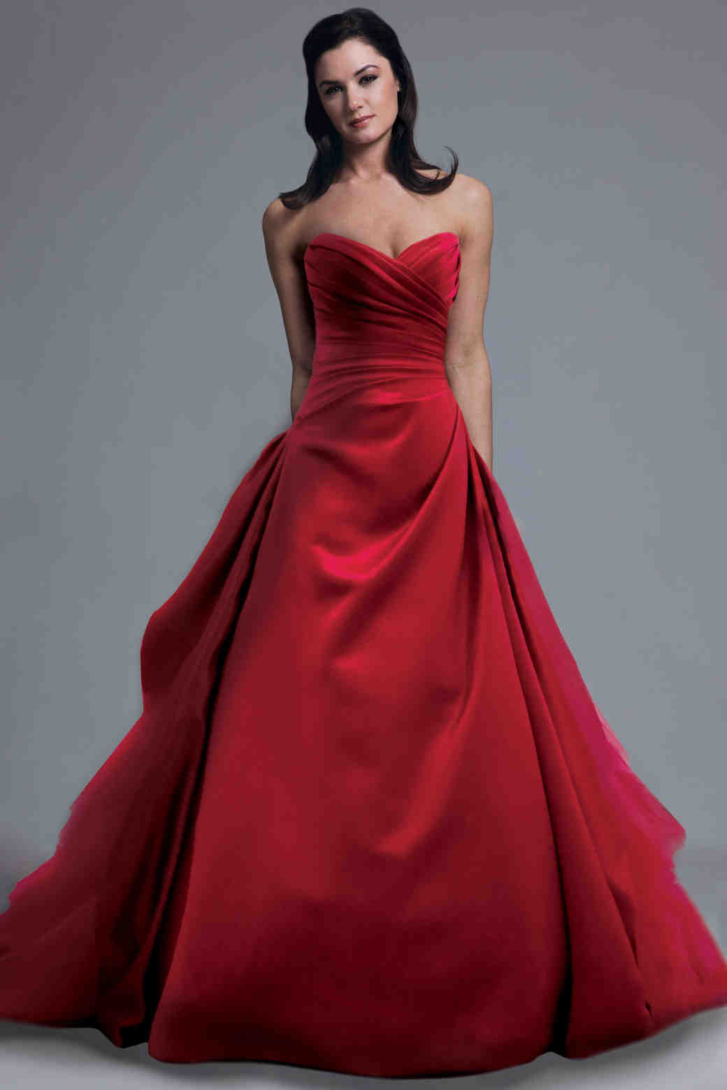 perfect gowns outdoor wedding party wedding dresses Red Wedding Dresses Spring Bridal Fashion Week