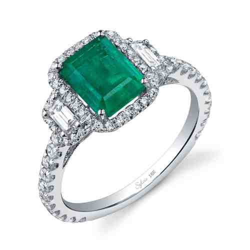 Medium Crop Of Emerald Wedding Rings