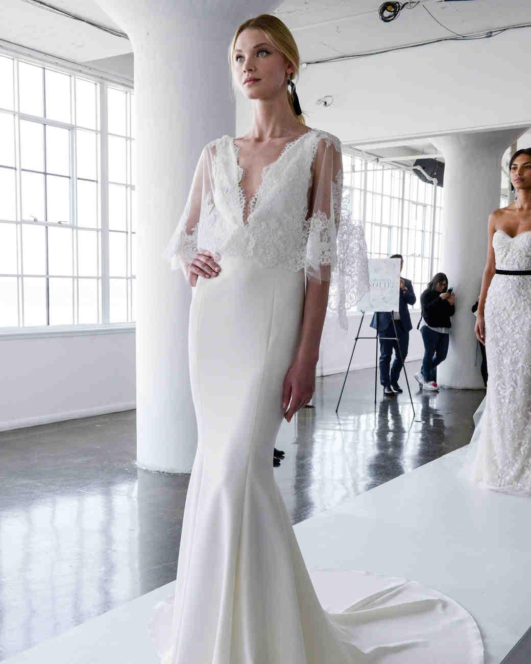 marchesa wedding dresses spring marchesa wedding dress marchesa spring wedding dress with lace bodice and v neckline