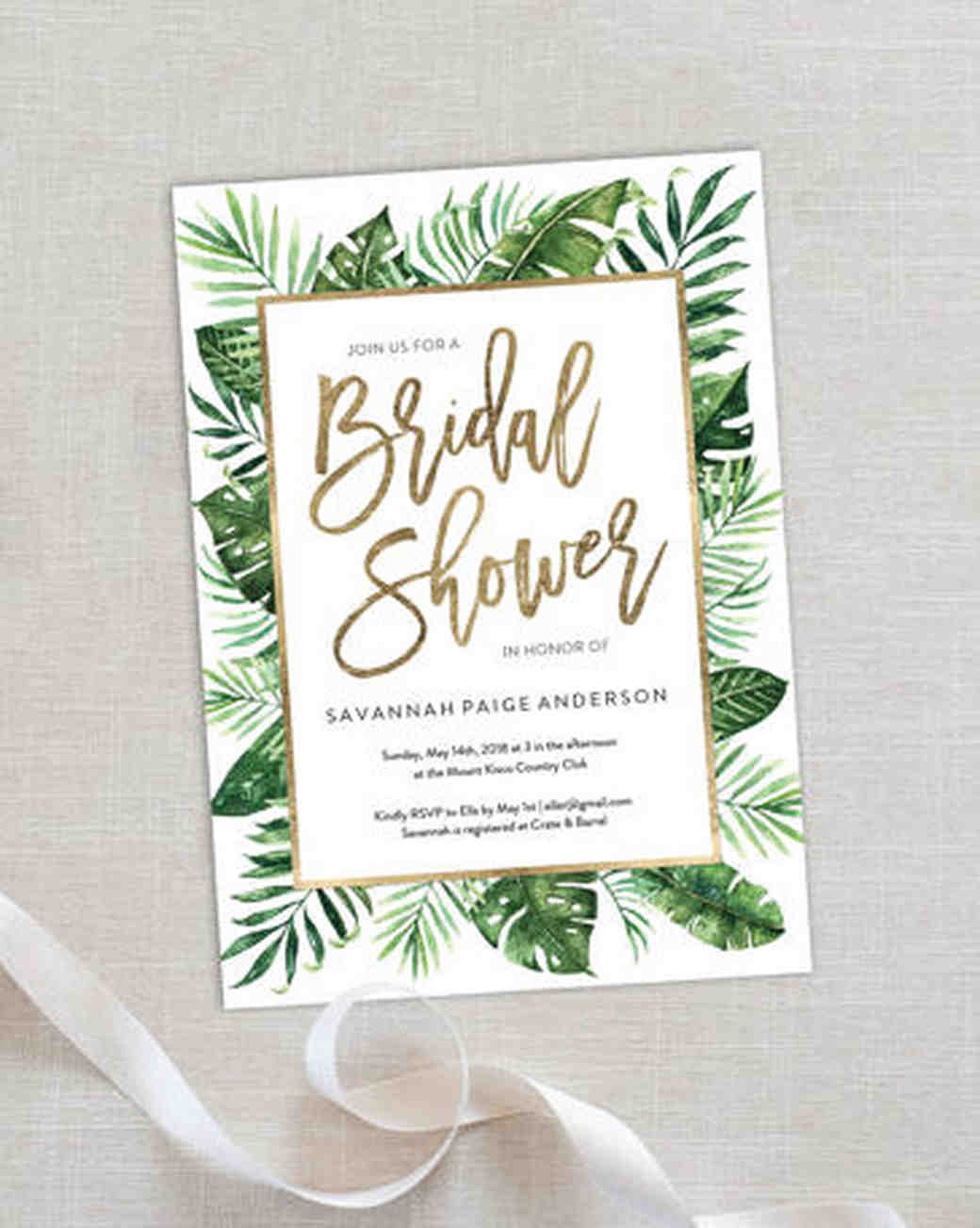 Fullsize Of Bridal Shower Invitations