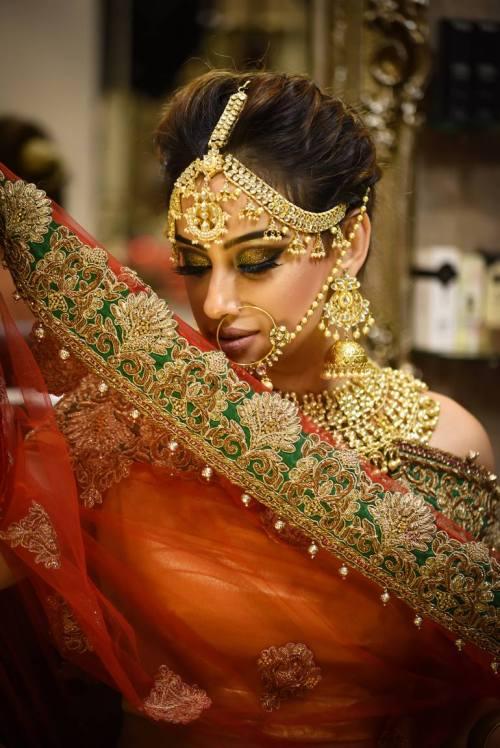 Medium Of Indian Wedding Dress