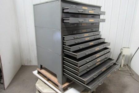 Map drawer storage flatfiledrawercabinetsmuseumcollectionsstorage 1203630 l 119446 hamilton industrial filing cabinet blueprint map tool storage vintage 15 drawer 6 malvernweather Images