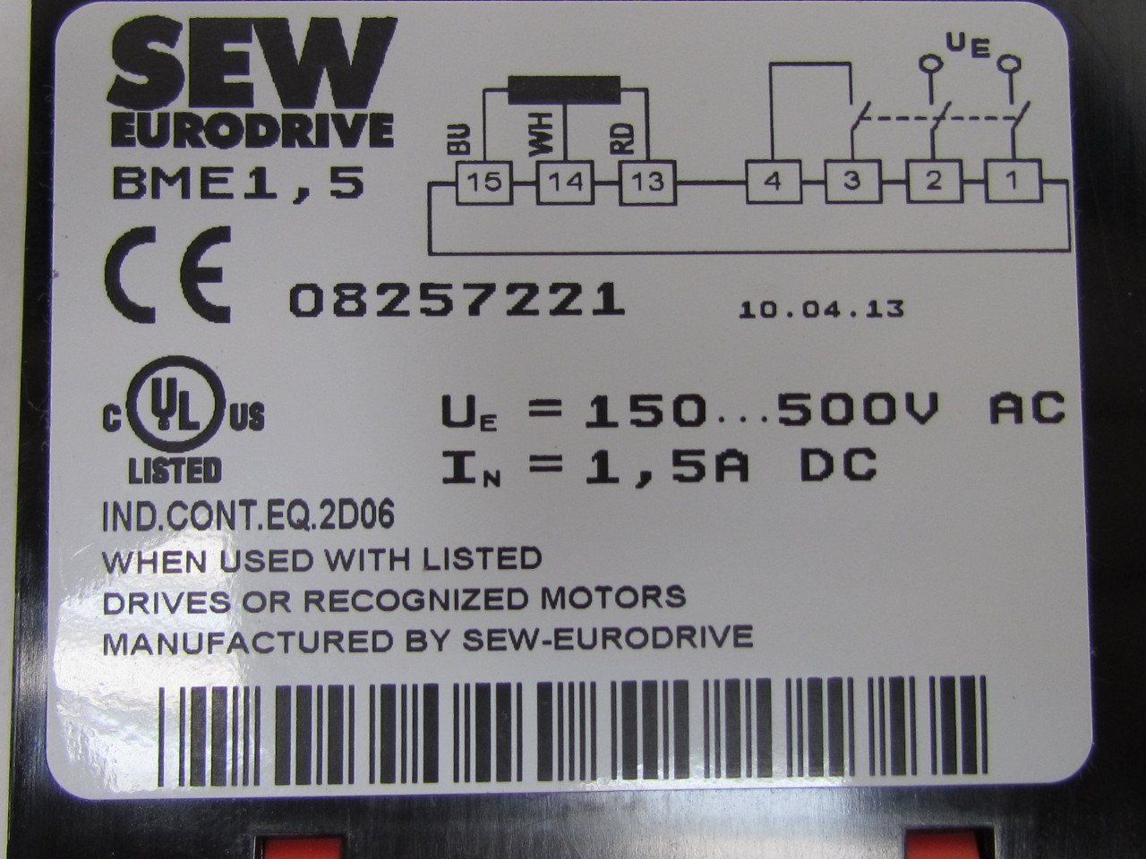 Sew Eurodrive Motor Wiring Diagrams 208 Volt - Wiring Library