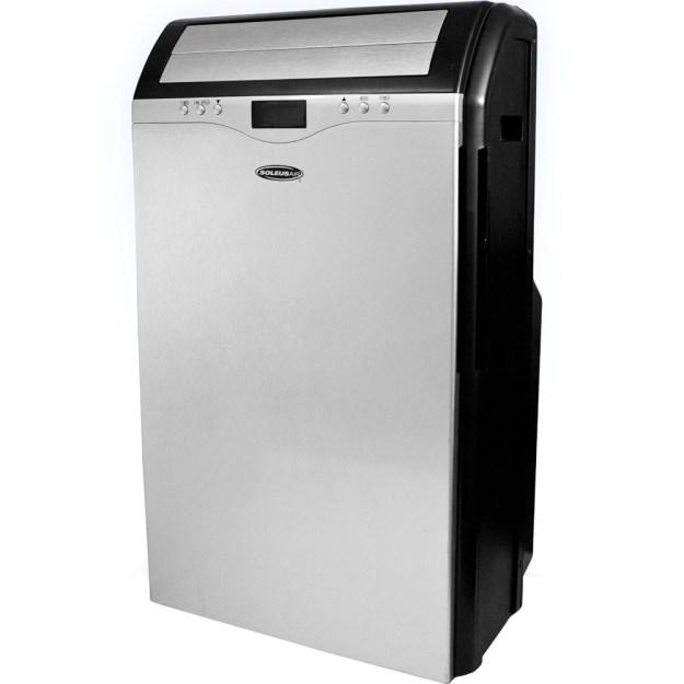 Soleus Air LX-130 DHP 13 000 BTU Dual-Hose Portable Air Conditioner  Heat Pump  Dehumidifier & Fan