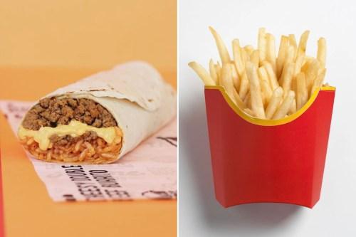 Medium Of Nacho Fries Box