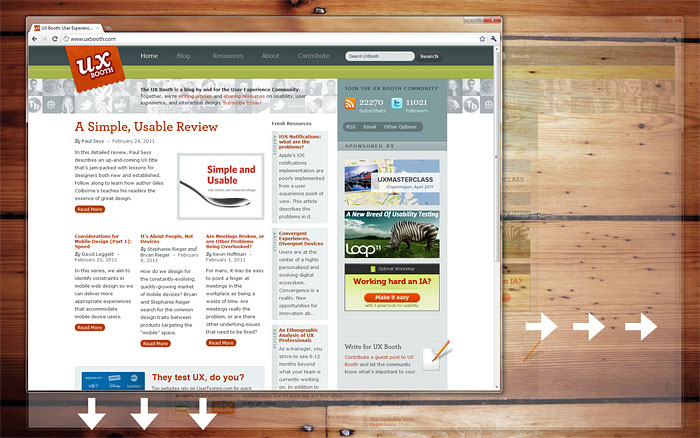 Desktop browser window and monitor display resolution are two independent attributes.