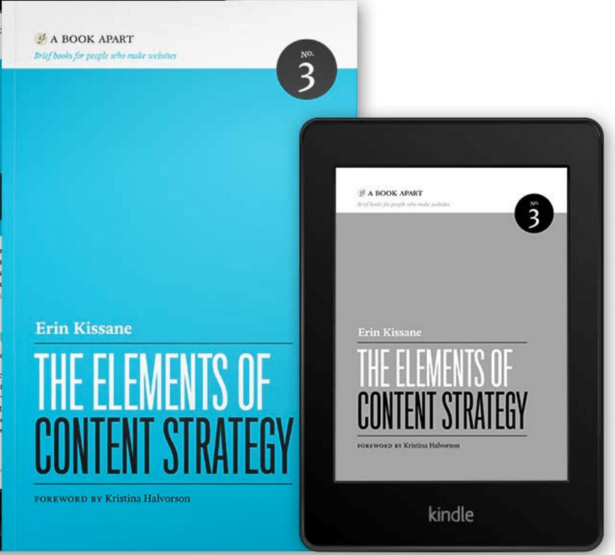 The Elements of Content Strategy