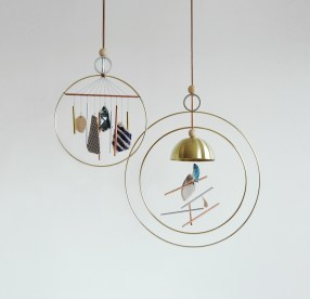 Aura Wind Chimes by Ladies & Gentlemen Studio | Yellowtrace.
