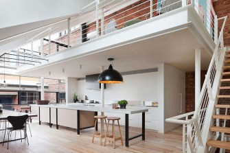 Moor Street Apartment by Clare Cousins Architects. Photo by Shannon McGrath | Yellowtrace.
