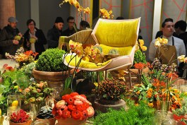Moroso Revolving Room at Salone del Mobile 2013 | Photo by Nick Hughes for Yellowtrace.