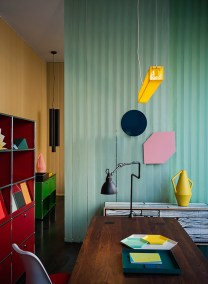 Spotti Happy office happy home during Milan Design Week 2013, Concept and set-up by Stidopepe | Yellowtrace.