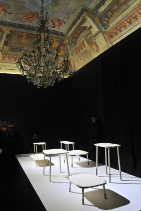 Stone Garden by Nendo for Caesarstone at Salone del Mobile 2013 | Photo by Nick Hughes for Yellowtrace.