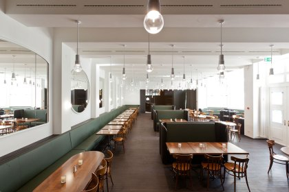 Volkshaus Basel Bar and Brasserie by Herzog & de Meuron | Yellowtrace.