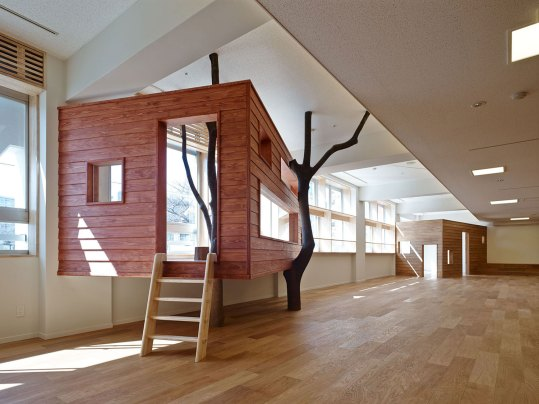 Mokumoku Kindergarten in Tokyo, Japan by 16A Inc Architects | Yellowtrace.