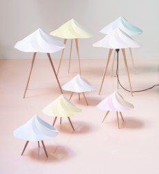 Chantilly Lamps by Constance Guisset for Moustache | Yellowtrace.