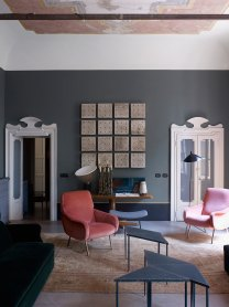 Milan apartment by Dimore Studio. Photo by Henry Bourne   Yellowtrace