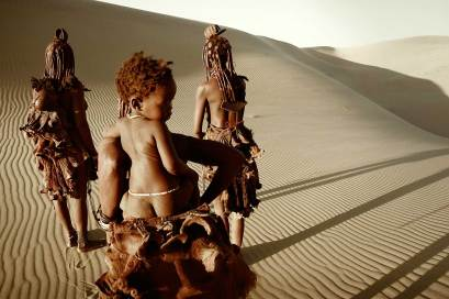 Himba Tribe, Namibia. Photo by Jimmy Nelson | Yellowtrace