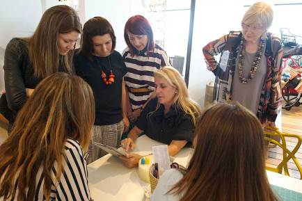 Design Masterclass with Patricia Urquiola at Space Furniture Sydney | Yellowtrace