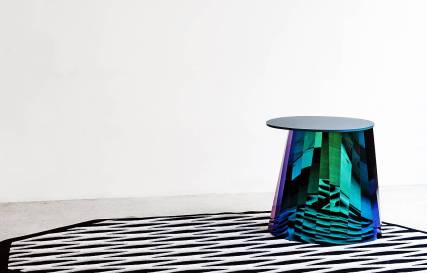 Gueridons Polistallo Crystal coffee table by Victoria Wilmotte | Yellowtrace