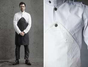The Jane Restaurant in Antwerp, Staff Uniforms by G-Star RAW | Yellowtrace