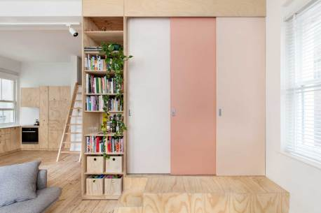 Flinders Lane Apartment by Clare Cousins Architects | Yellowtrace