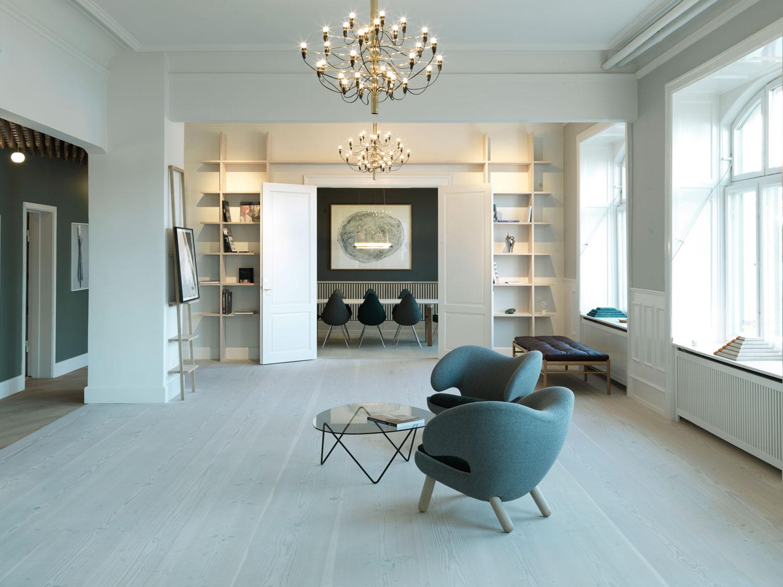 Showroom Living Room Dinesen Showroom Copenhagen By Oeo Yellowtrace