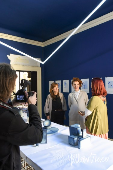 Studiopepe with Dana Tomic Hughes at Out Of The Blue exhibition, Photo: Nick Hughes