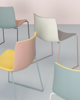 New Catifa colour by Arper, Salone Del Mobile 2016 | #Milantrace2016