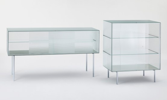 Commodore by Piero Lissoni for Glass Italia, Salone Del Mobile 2016 | #Milantrace2016